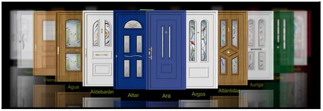 Alukarjor carpinter a met lica aluminio y pvc barreiros for Paneles de aluminio para puertas